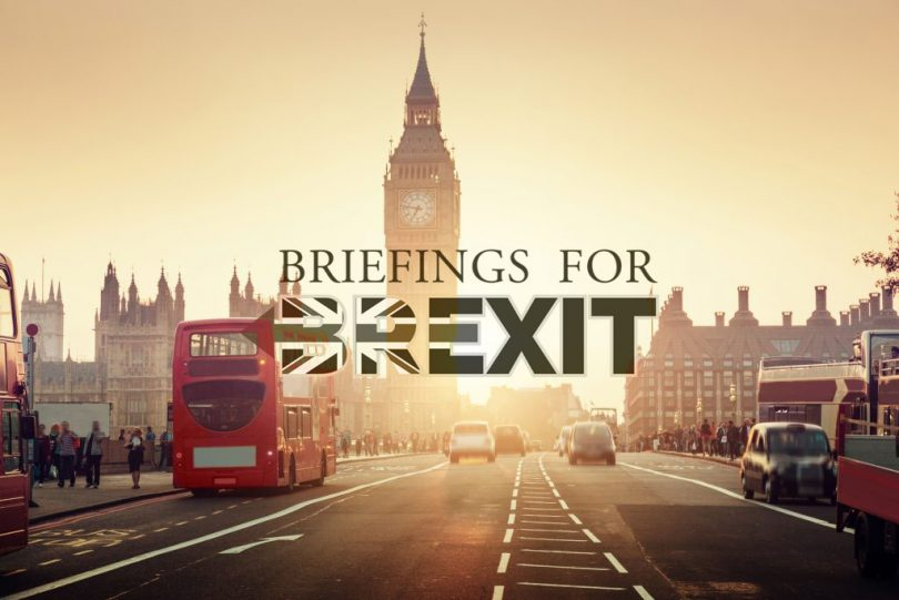 Briefings For Brexit Holdings