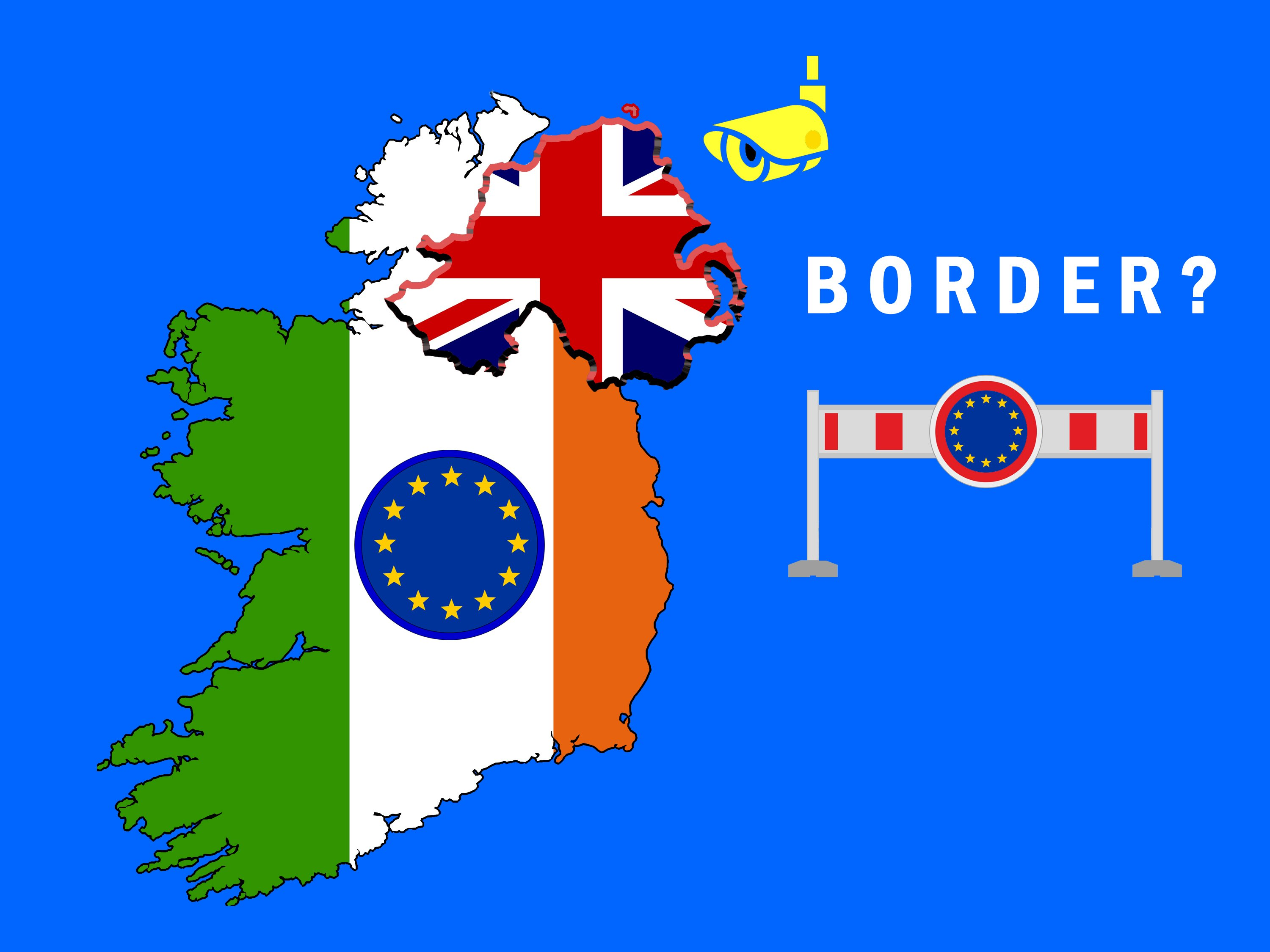 Map Of Ireland Uk.Where Are We On The Irish Border Briefings For Brexit