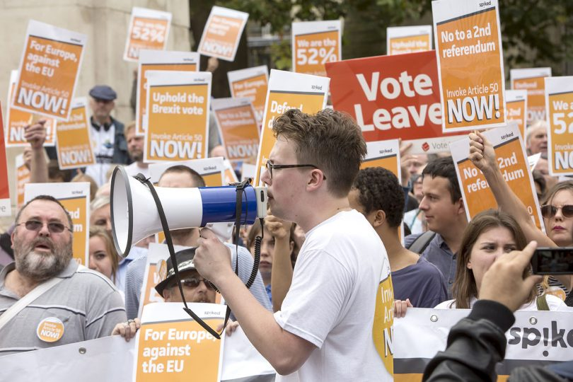 Authoritarian Brexiteers