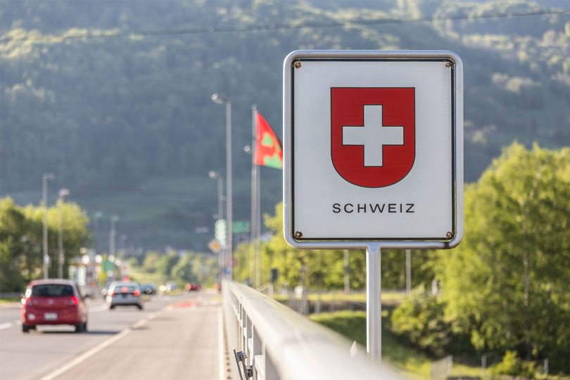 Switzerland A Borderline Case by Adrian Hill