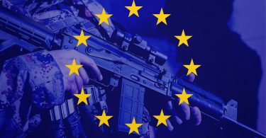 EU soldier flag