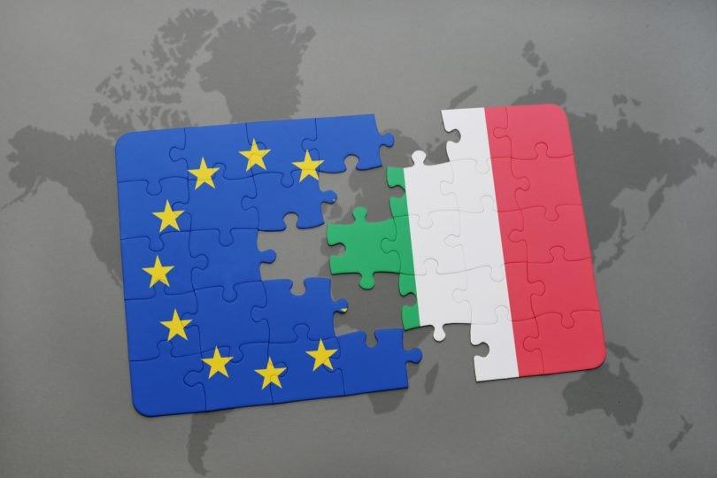 Italy tear Europe apart