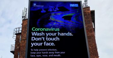 NHS covid 19 UK infection