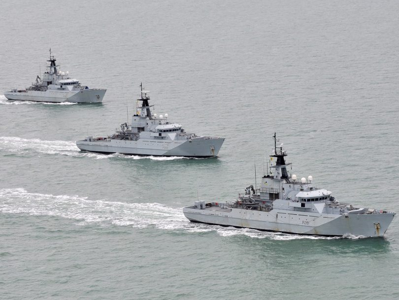 Preparations to defend our territorial waters